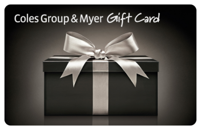 coles-myer-gift-card